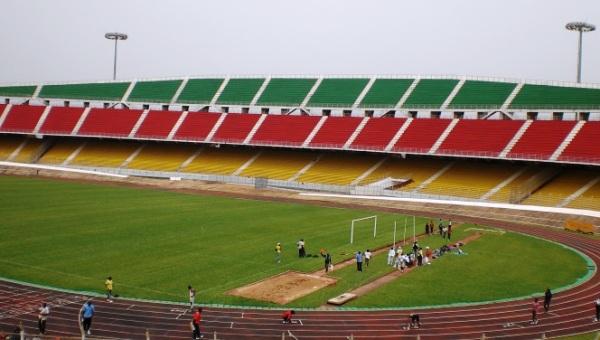 L'enceinte mythique du Stade Omnisports de Yaoundé